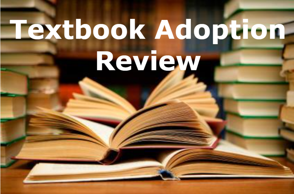 Textbook Adoption Review