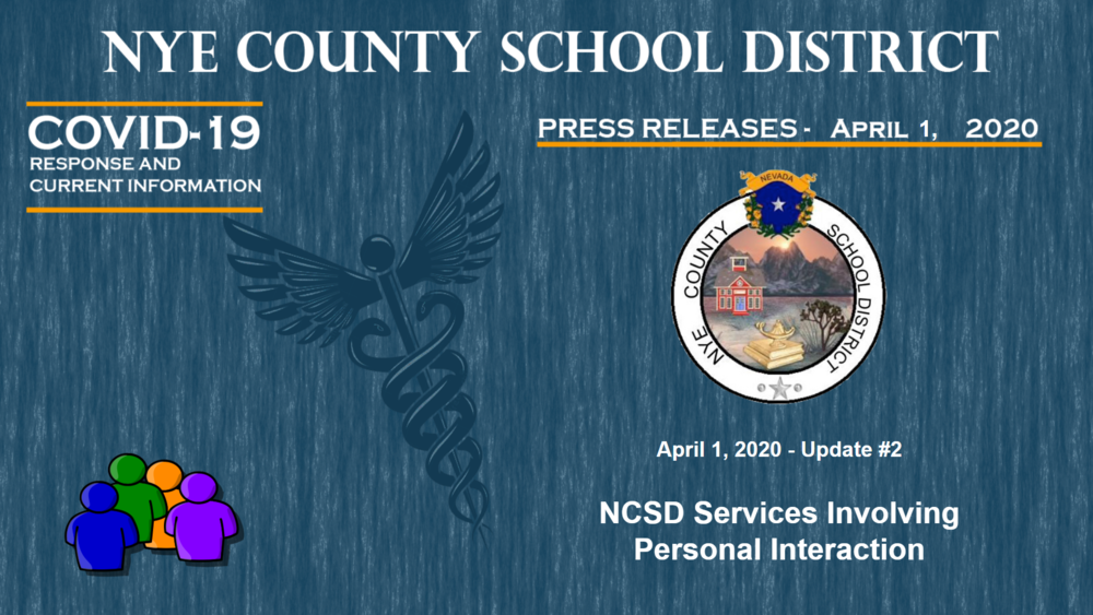 NCSD - 4/1/20 #2 - NCSD Services Involving Personal Interaction