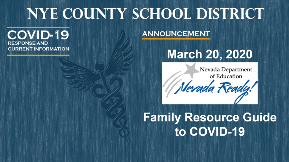 NDE - 3/20/20 - Family Resource Guide to COVID-19