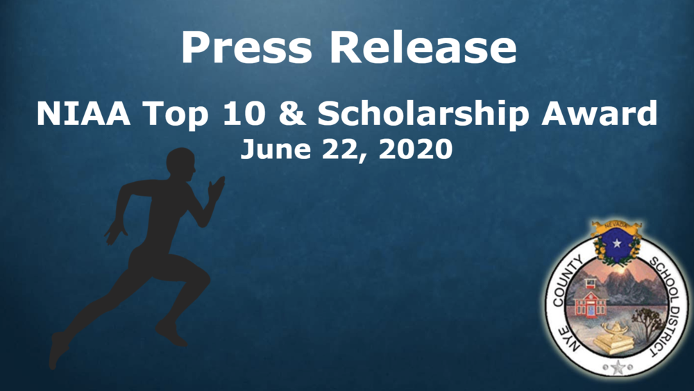 Press Release - NIAA Top 10 & Scholarship Award