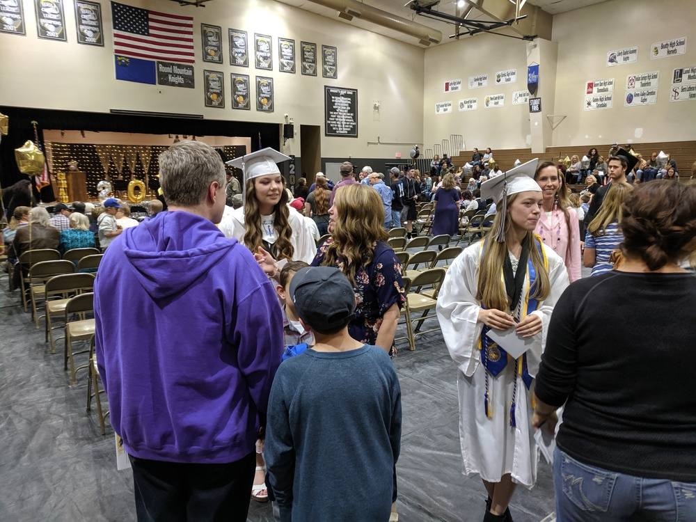 Round Mountain Graduation 2019