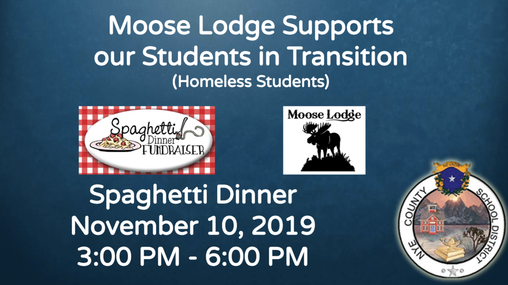 Spaghetti Fund Raiser for Homeless Students