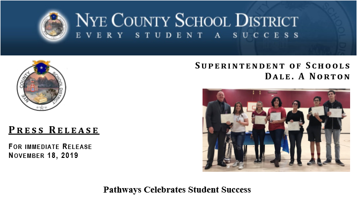 Press Release: Pathways Celebrates Student Success