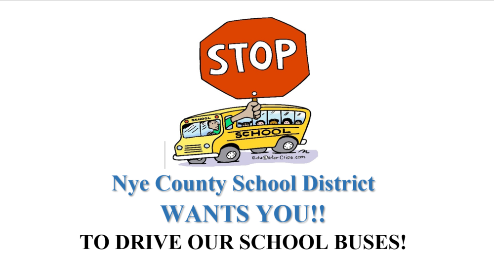 NCSD Wants YOU!!! To Drive School Buses