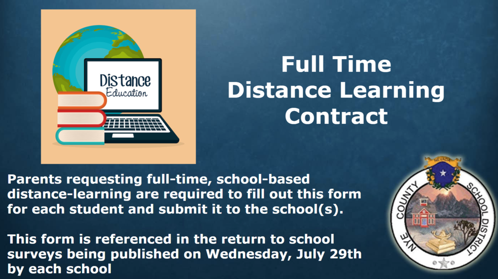 Distance Learning Contract