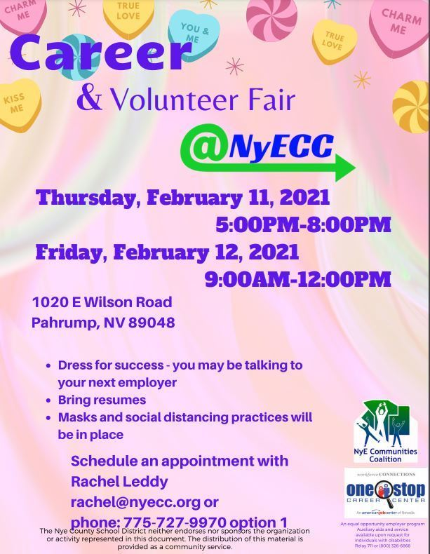 Career & Volunteer Fair