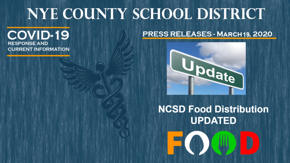 NCSD - 3/18/20 - Food Distribution Update
