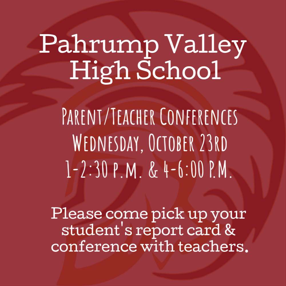 Parent/Teacher Conferences this week!