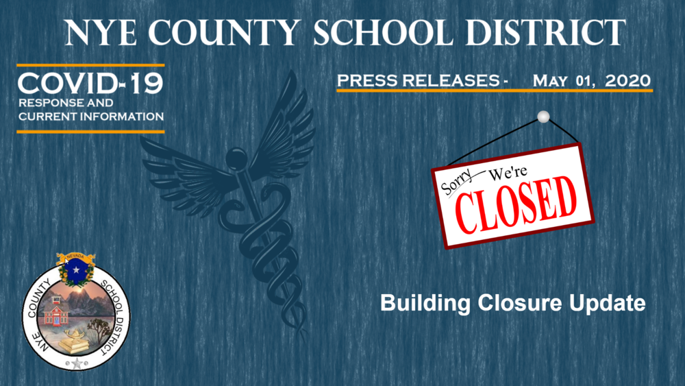NCSD - 5/1/20 - Building Closure Update