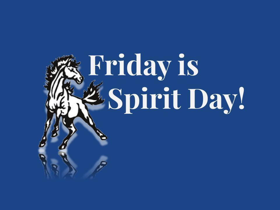 Every Friday is Spirit Day