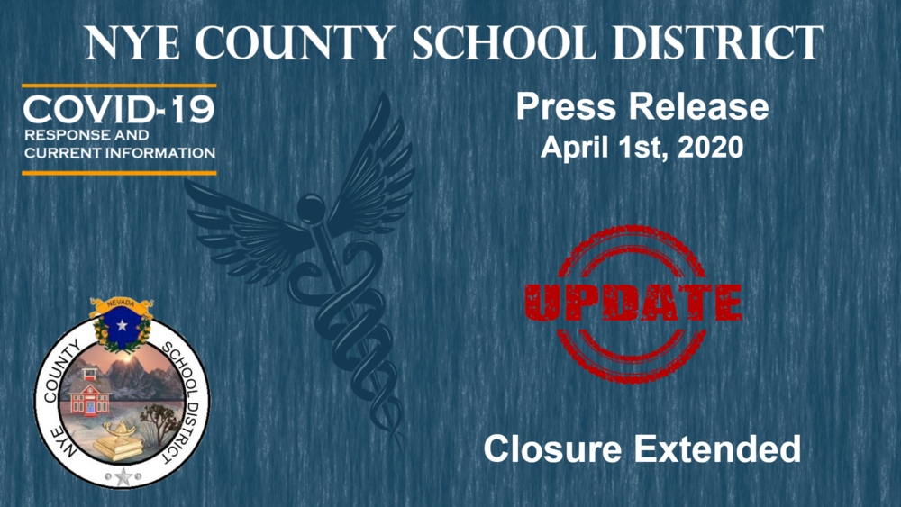 NCSD - 4/1/20 - School Closure Extended