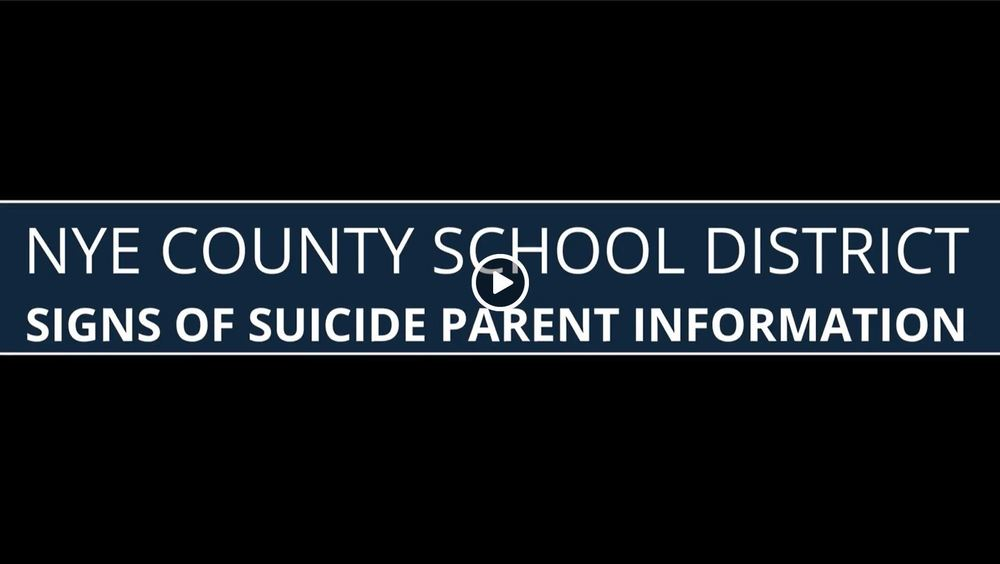 NCSD Signs of Suicide Parent Information