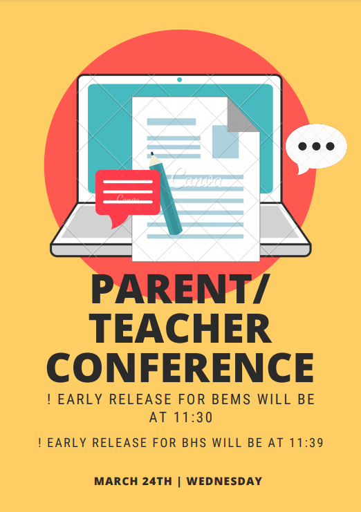 Spring parent teacher conferences