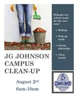 JG Johnson Campus Clean-Up