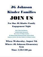 Kindergarten Family Engagement