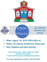 JG Johnson Open House