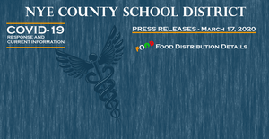 NCSD - 3/19/20 - Food Distribution for the Children of Nye County