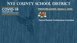 NCSD - 3/17/20 - Parent-Teacher Conferences Canceled