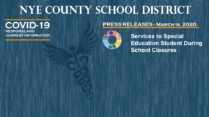 NCSD - 3/19/20 - Services to Special Education Students During School Closures