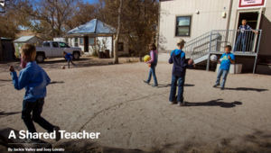 A Shared Teacher: The Nevada Independent Writes about one-room schools in Nevada
