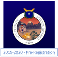 Pre-Registration for 2019-2020