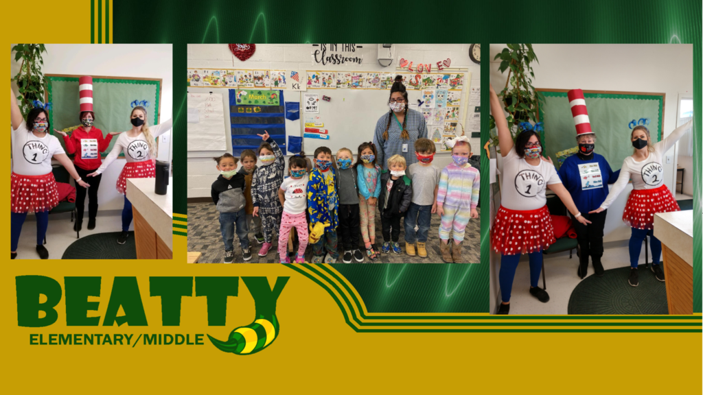 Beatty Elementary celebrates Reading Week