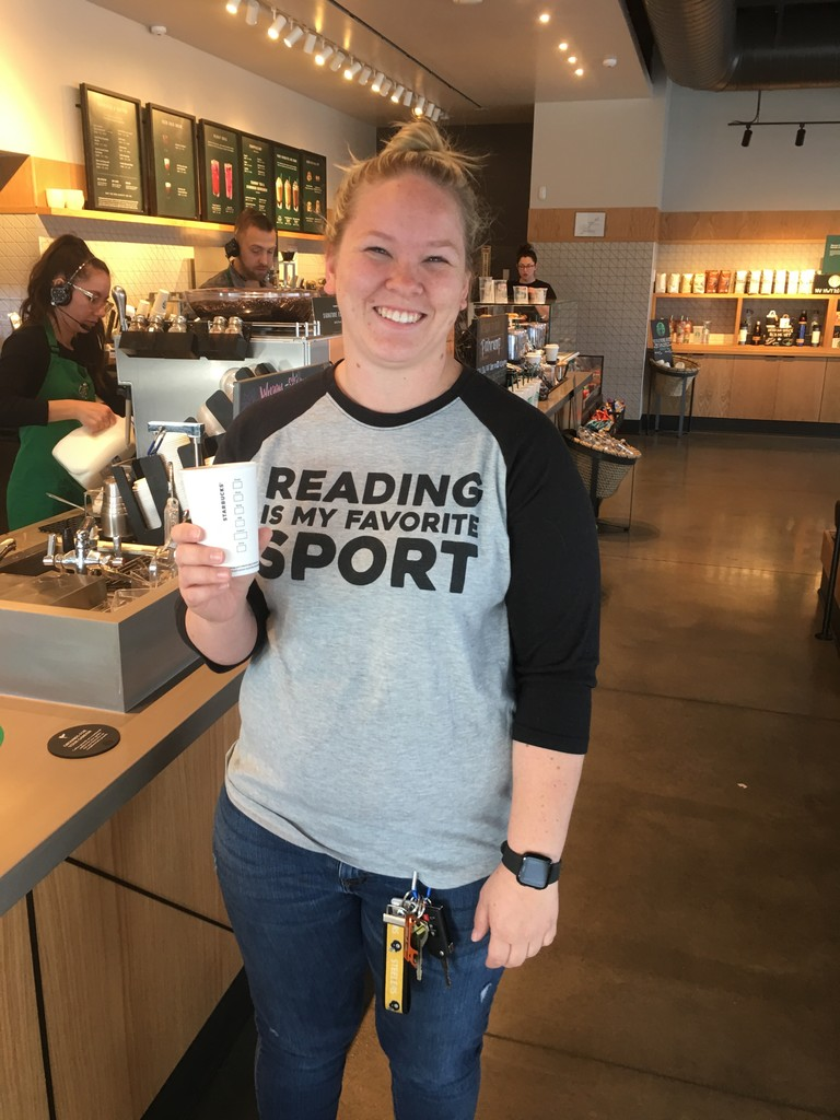 Read is my favorite sport too! Plus coffee!