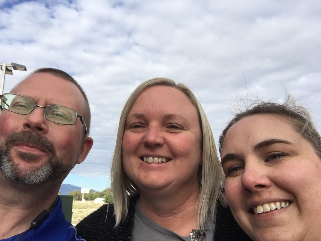 Rob, Debbie, and Wendy - I'm need more selfie practice