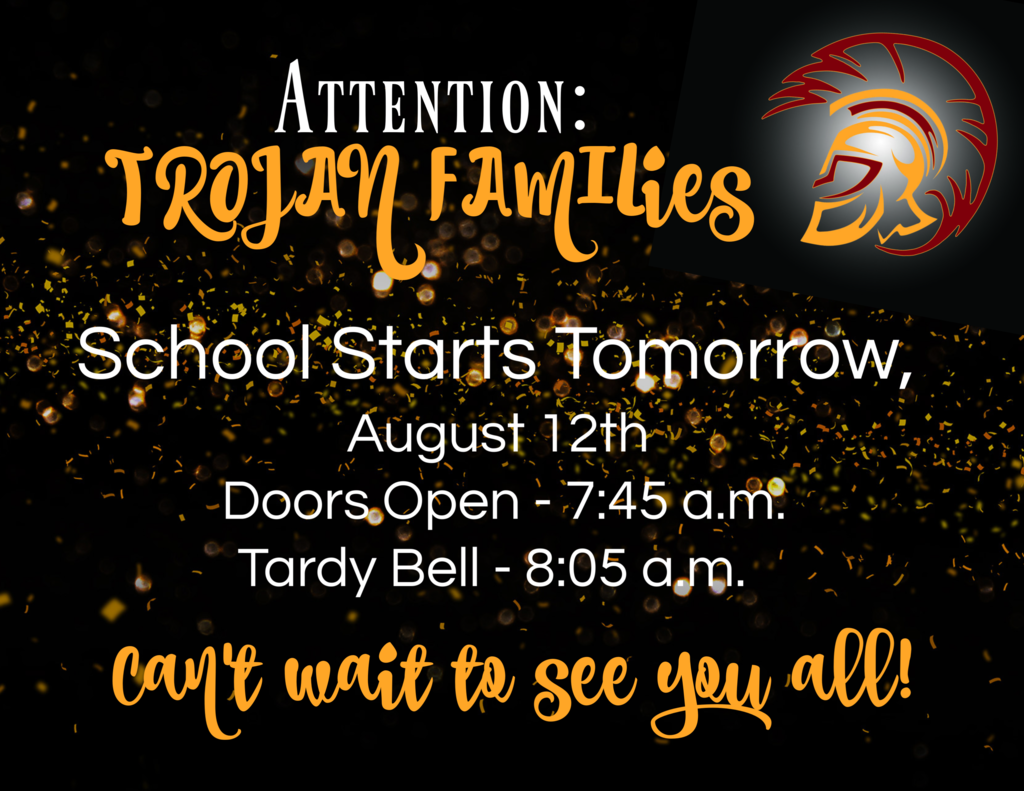 Attention Trojan Families!