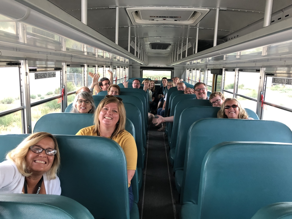 Teachers on the way to in-service