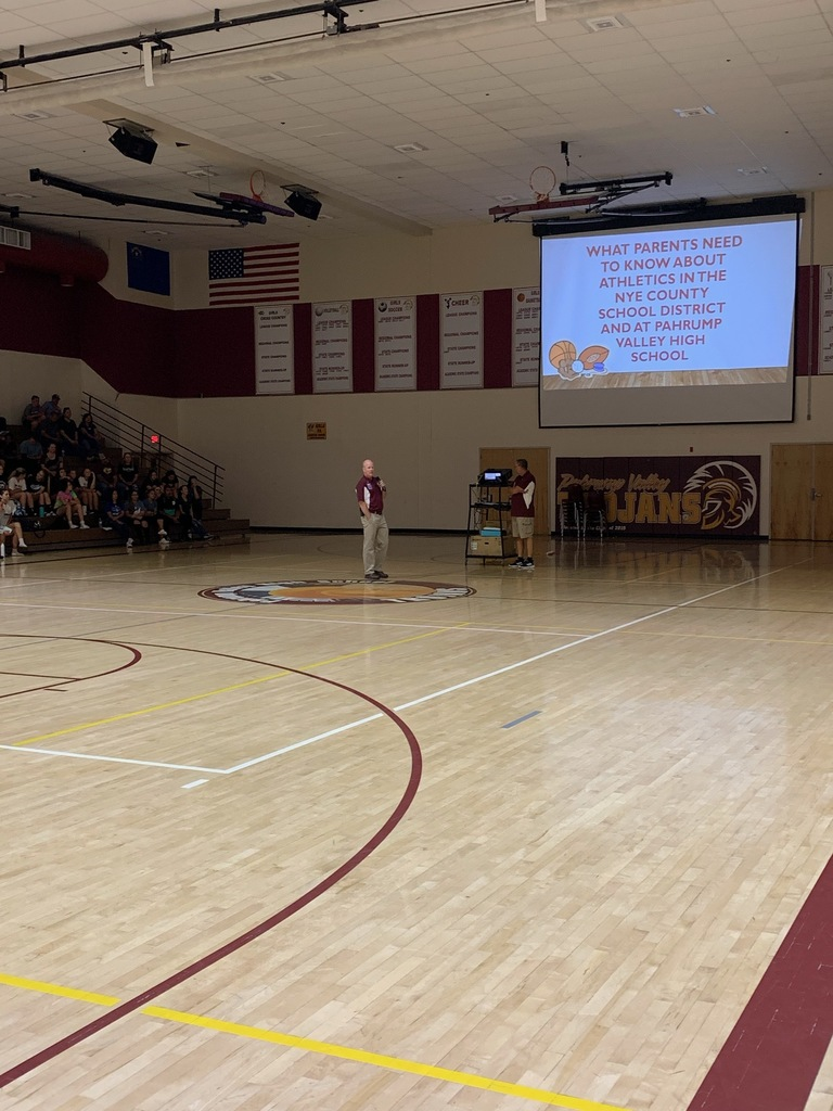 Mr. Odegard, the athletics administrator, along with Mr. Toomer, athletic director, went over basic expectations and leadership capabilities as an athlete.