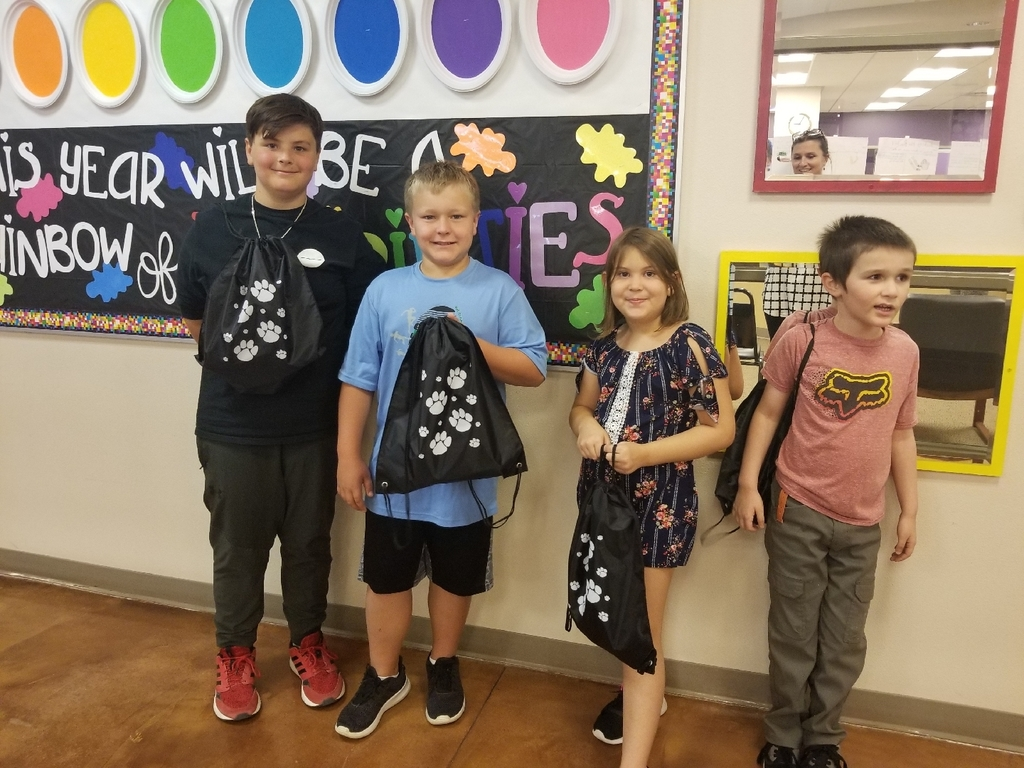 Bobcat Swag Bag Winners