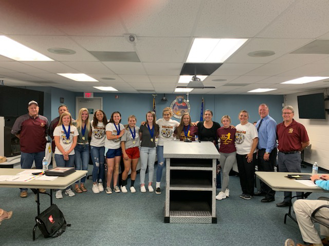 Softball State Winners Board recognition!