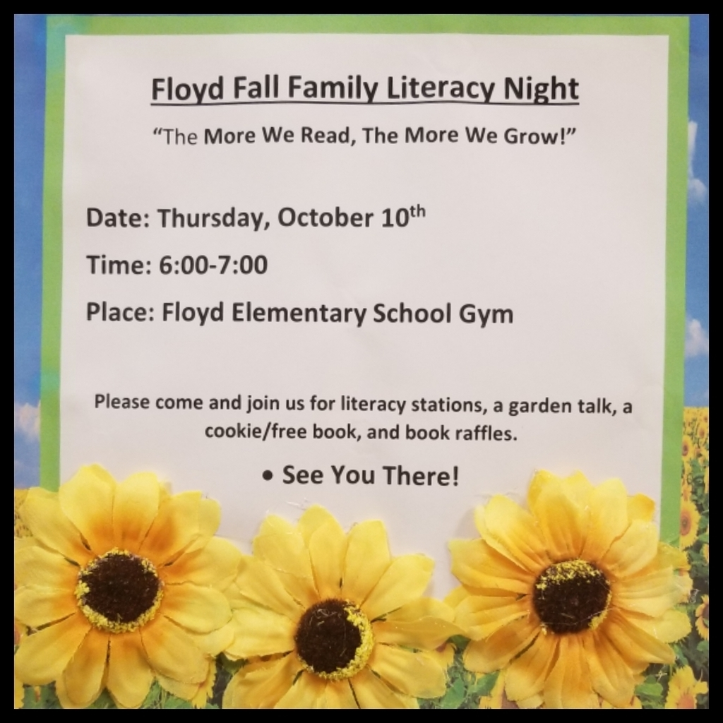 Floyd Fall Family Literacy Night