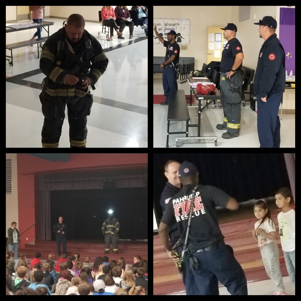 Pahrump Valley Firefighters Assembly