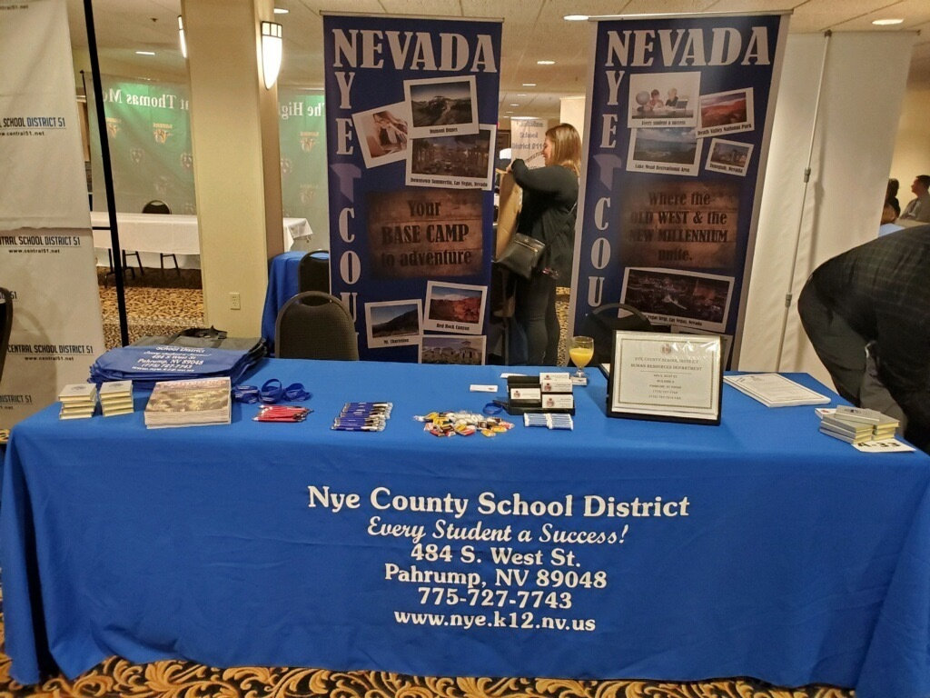 NCSD Recruiting Table