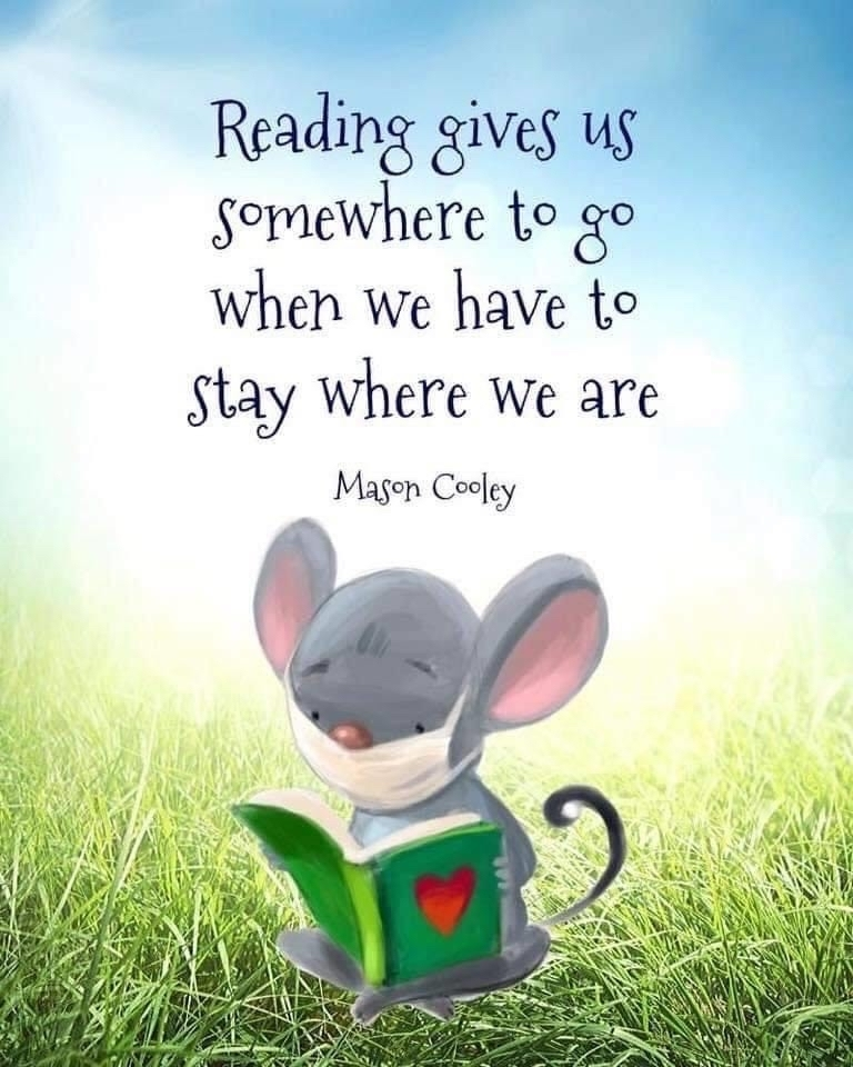 Reading can take you anywhere!
