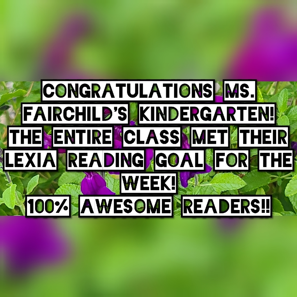 Ms. Fairchild's Kindergarten