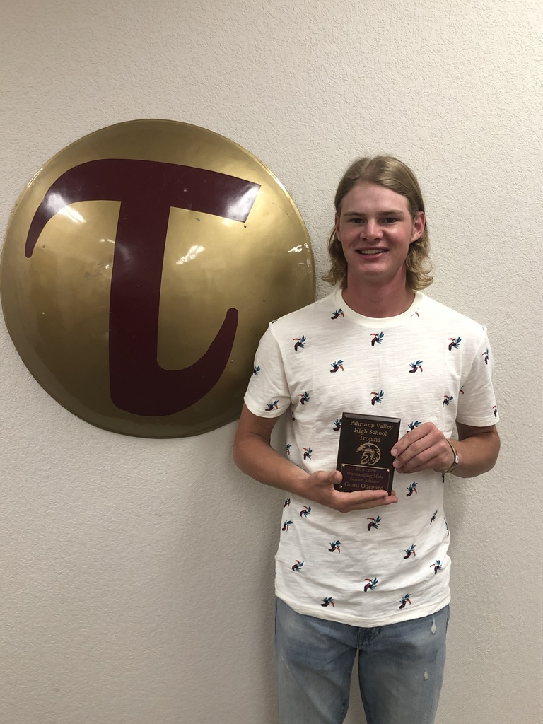Grant Odegard - Male Outstanding Senior Athlete